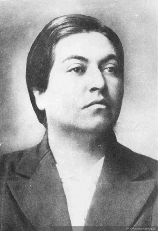 Gabriela Mistral, 1922