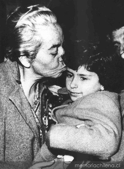 Gabriela Mistral, 1954