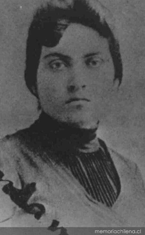 Gabriela Mistral, ca. 1905