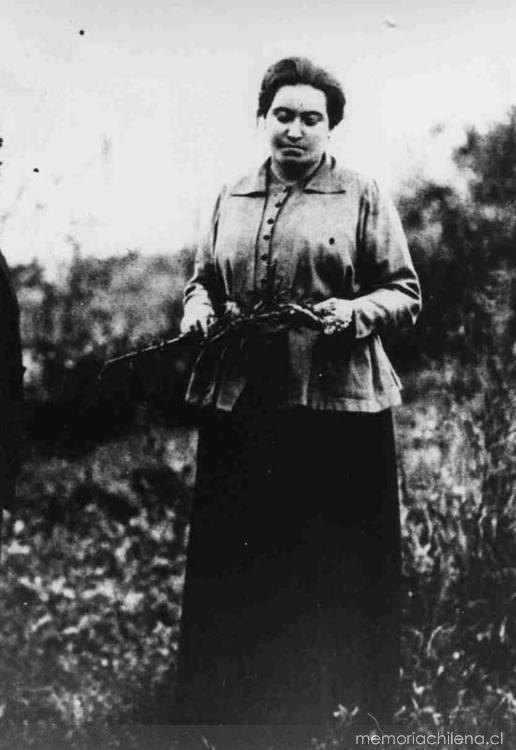 Gabriela Mistral, ca. 1914