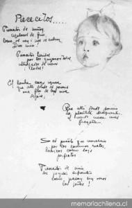 Piececitos, manuscrito - Mistral (descargar)